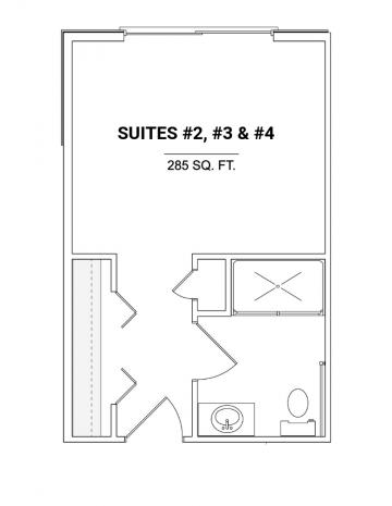 Suites #2, #3 & #4